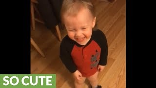 Baby has the most contagious laugh ever