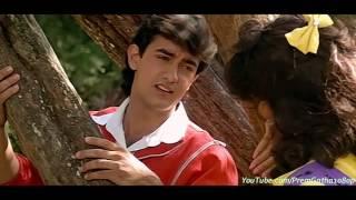 """""""Mujhe Neend Na Aaye"""" ~ """"Dil"""" ( Movie 1990) HQ Sound"""