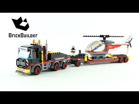 Vidéo LEGO City 60183 : Le transporteur d'hélicoptère