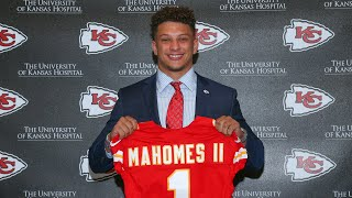 Patrick Mahomes: A Gunslinger from Texas Tech | Chiefs Draft Flashback
