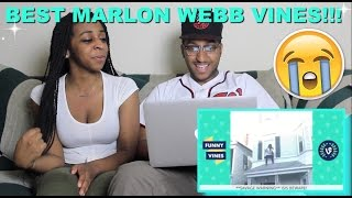 Couple Reacts : Top 100 Marlon Webb Vines Reaction!!!!