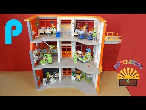 Etagen Ergänzung Kinderklinik 6443 6657 - Playmobil City Life - Film Krankenhaus auspacken
