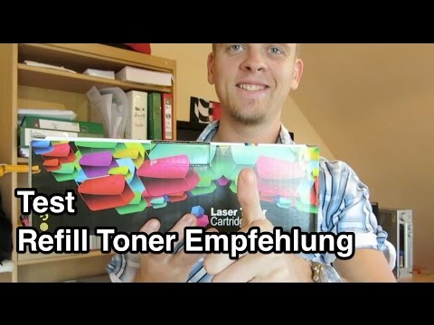 Test Refill Toner für Laserdrucker | Toner Test | Laserdrucker Toner