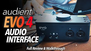 "Chris Selim Explains the Audient EVO 4: ""Perfect for a self-produced musician"""