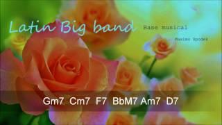 BASE MUSICAL DE LATIN BIG BAND EN G PARA GUITARRA, TROMPETA, PIANO, SAXO, FLAUTA, PERCUSION , ETC