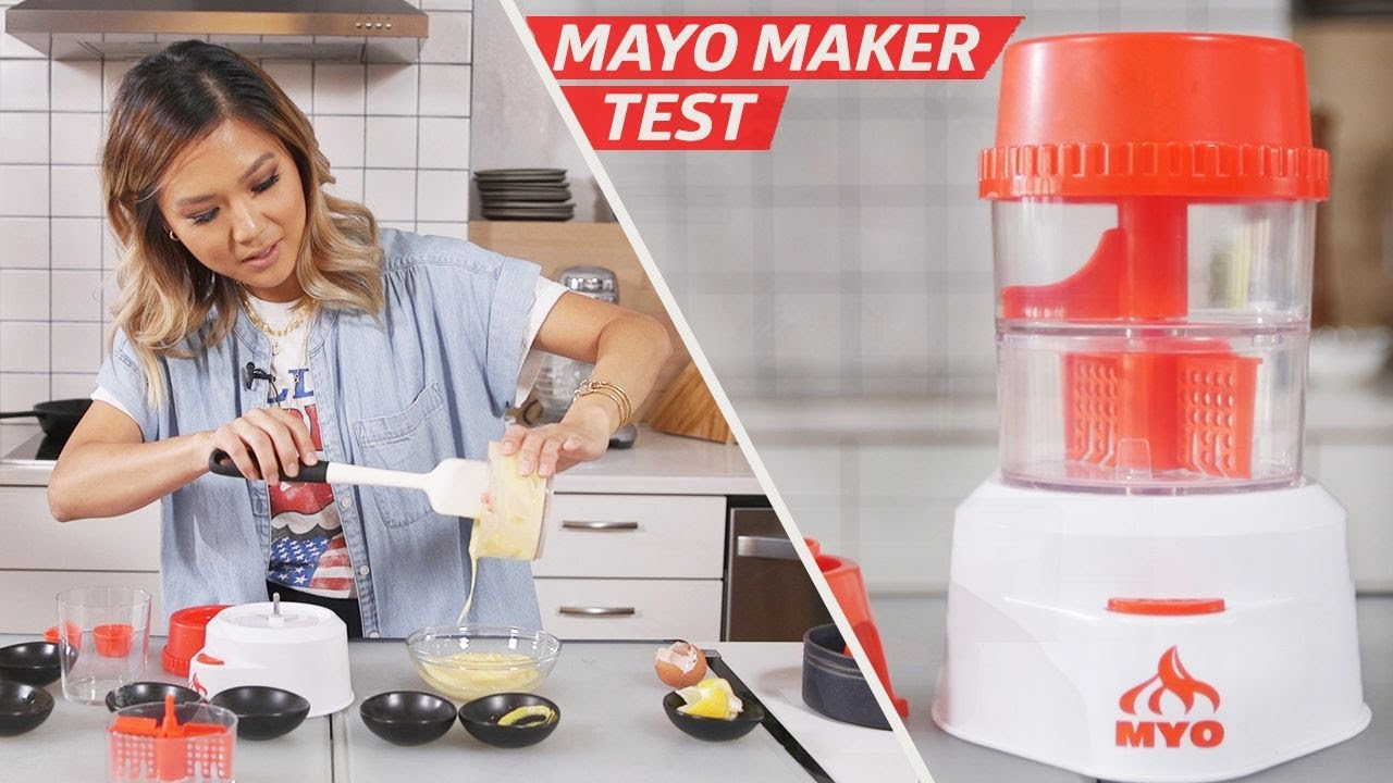Recreating Kewpie Mayo With the MYO Mayonnaise Machine — The Kitchen Gadget Test Show thumbnail