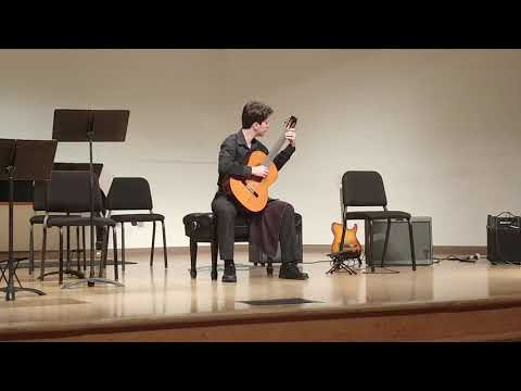 Etude No. 22 - Cafe Venezolano from Gerald Garcia's 25 Etudes Esquisses for Guitar. Performed November 5th, 2018.