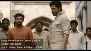 Mere rashke qamar song of Raees | Singer Arijit singh | Lyrics Nusrat fateh ali Khan | Mp4 |