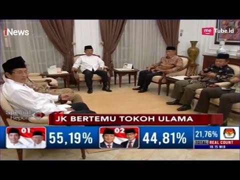 JK Temui Tokoh Ulama, Bahas Persoalan Pemilu Baik dan Jujur - Special Report 23/04