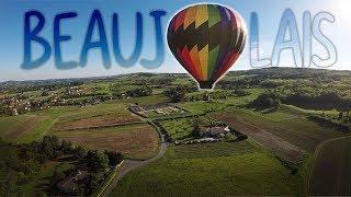 Le Beaujolais en montgolfière !