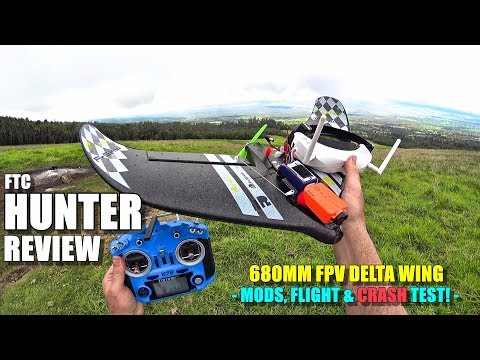 ftc-hunter-fpv-delta-wing-flight-test-review--mods--crash-testing--pros--cons