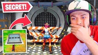 The SECRET bunker is now OPEN in Fortnite!