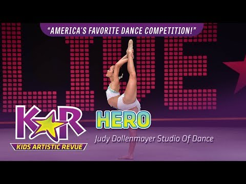 """Hero"" from Judy Dollenmayer Studio Of Dance"