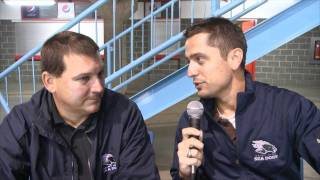 EP.137.2 2011 SEA DOGS TRAINING CAMP DAY 2 - OFF-ICE TRAINING / SCOUTS