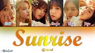 GFRIEND (여자친구)   SUNRISE (해야) Color Coded Lyrics  가사 [Han|Rom|Eng]