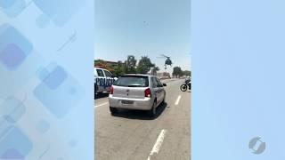JSD (12/11/19) - Policiais do GIRO sofrem acidente na Avenida Perimetral Norte