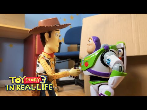 The entire movie of Toy Story 3 has been recreated in stop-motion.