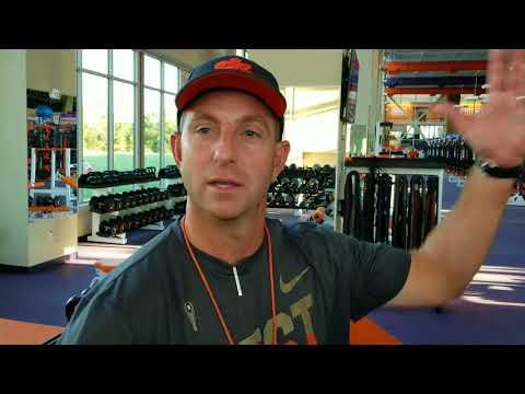 TigerNet.com: Dabo Swinney post-Wednesday practice