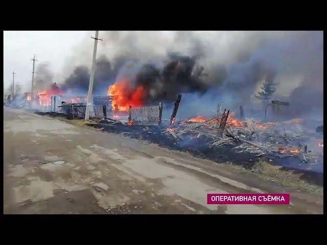 У ангарчан горят дачи
