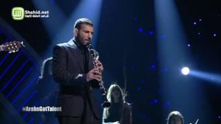 Arabs Got Talent- عرض النصف نهائيات – عبد اللطيف غازي ومحمد جباري