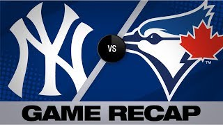 Condensed Game: Randal Grichuk mashed two home runs and drove in four, while T.J. Zeuch struck out five to earn his first Major League win  Don't forget to subscribe! https://www.youtube.com/mlb  Follow us elsewhere too: Twitter: https://twitter.com/MLB Instagram: https://www.instagram.com/mlb/ Facebook: https://www.facebook.com/mlb TikTok: https://www.tiktok.com/share/user/6569247715560456198  Visit our site for all baseball news, stats and scores! https://www.mlb.com/