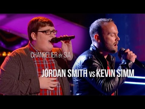 Chandelier | Blind Auditions | Jordan Smith vs Kevin Simm | The Voice