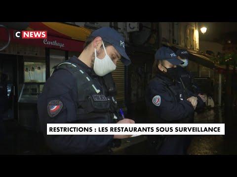 Couvre-feu : les restaurants sous surveillance Couvre-feu : les restaurants sous surveillance