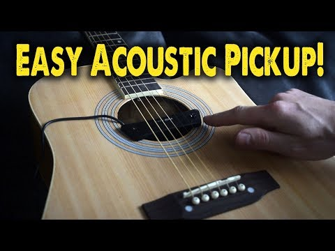 Electrify Your Acoustic for Less Than $20! - Demo / Review