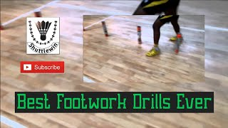 Badminton Footwork Drills - Badminton Tutorial