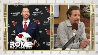 Cardinals Hire Kliff Kingsbury | The Jim Rome Show