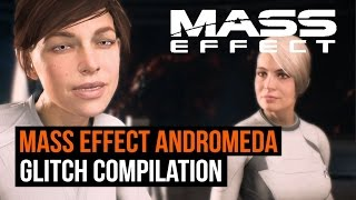 Mass Effect Andromeda gameplay Glitches Compilation
