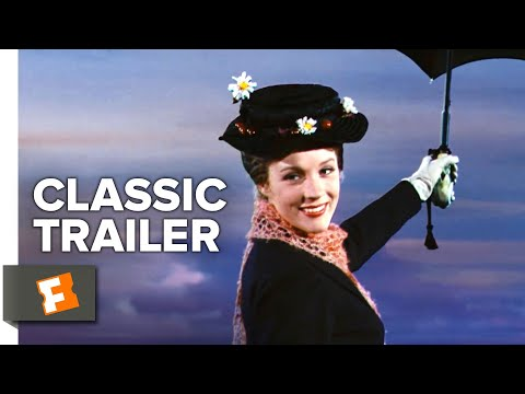 Mary Poppins (1964) Trailer #1 | Movieclips Classic Trailers