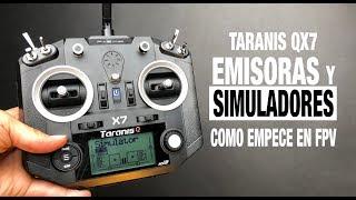 TARANIS QX7 y DRL SIMULATOR REVIEW ESPAÑOL / COMO EMPECE EN FPV
