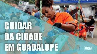 Cuidar da Cidade chega a Guadalupe e leva serviços de zeladoria ao bairro
