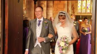 Nicky and Stuarts wedding - Leaving the church