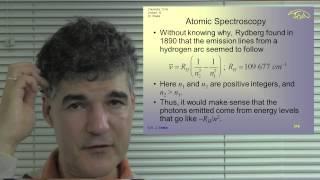 Chem 131A. Lec 12. Quantum Principles: Spin, The Vector Model and Hydrogen Atoms