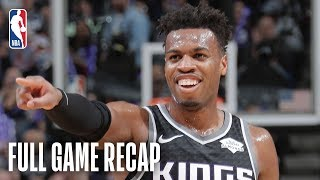 KNICKS vs KINGS | Buddy Hield & Allonzo Trier Duel In Sacramento | March 4, 2019