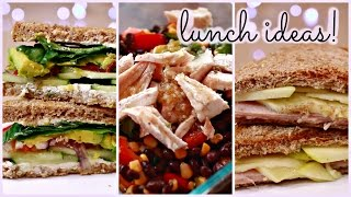 Healthy + Unique Lunch Ideas!