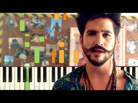 Download No Te Vayas - Camilo - Piano - Synthesia Youtube to MP3 MP4