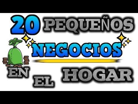 , title : '20 PEQUEÑOS NEGOCIOS EN EL HOGAR'