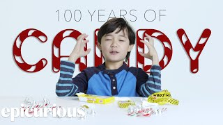 Kids Try 100 Years of Candy From 1900 to 2000 | Bon Appetit