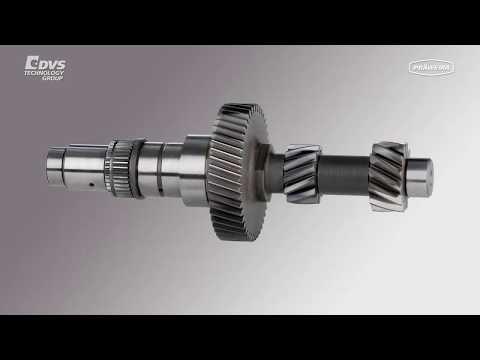 PRÄWEMA Antriebstechnik - SynchroFine Verzahnungshonen für Räder und Wellen