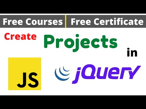 Free Certification Courses | Create Projects in JavaScript & jQuery Online Classes #DeepShukla