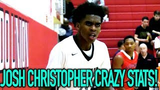 Josh Christopher CRAZY STATLINE! 31 Points, 10 STEALS, 7 Rebounds, 4 Assists & 2 Blocks VS Redondo