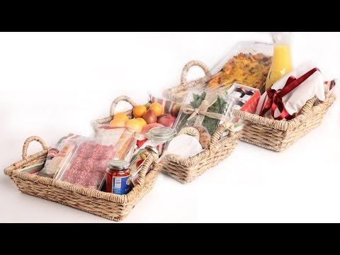 3 DIY FRESH Food Gift Baskets – Edible Gifts
