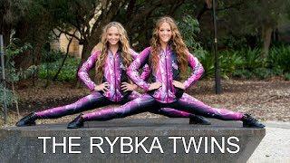 The Rybka twins | Synchronized gymnastics