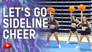 Cheerleading Tips in 4K - G-O Let's Go Sideline Cheer - Coach Audra Scofield