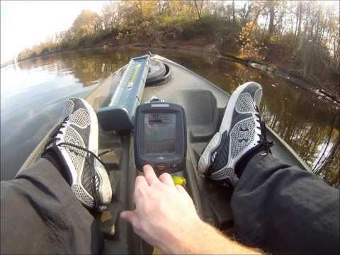 Humminbird Piranhamax 170 Fish Finder Review – in water
