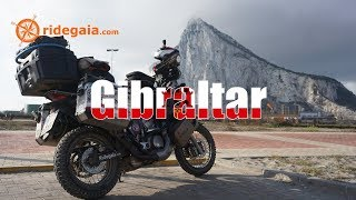 Ep 90 - Gibraltar - Around Europe on a Motorcycle