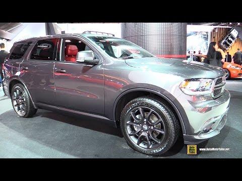 2015 Dodge Durango R/T - Exterior and Interior Walkaround - 2015 Detroit Auto Show